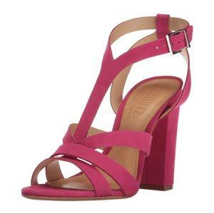 SCHUTZ $190 Veggy Leather Open Toe Sandal